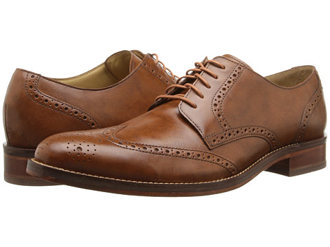 Cole Haan - Madison Wing Oxford II (British Tan) Men's Lace up casual Shoes