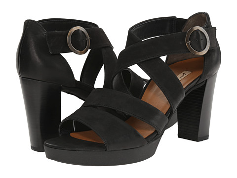 Paul Green - Taylor Sandal (Black) High Heels