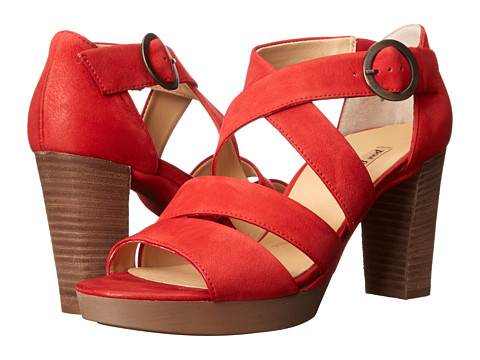 Paul Green - Taylor Sandal (Red) High Heels