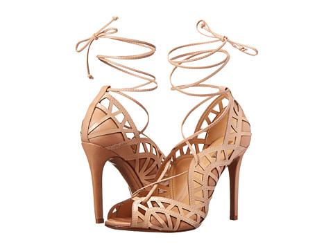 Schutz - Dubianna (Pale Peach Verniz/Atanado Soft) High Heels
