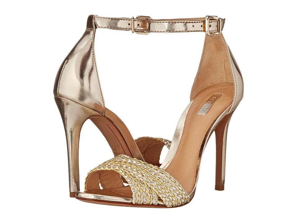Schutz - Drauzia (Platina Tran a/Spechio) High Heels