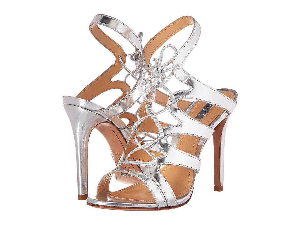 Schutz Spring Heel (Prata Spechio) High Heels