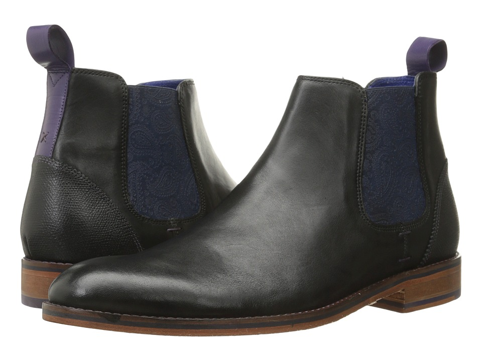Ted Baker - Camroon 2 (Black Leather) Men's Shoes