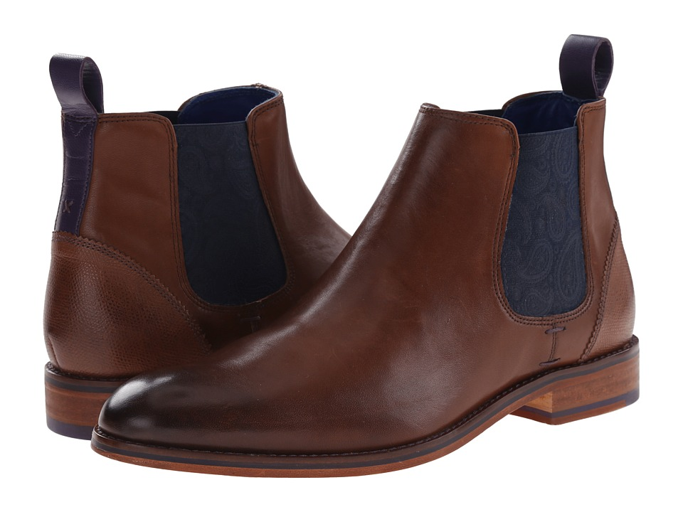 Ted Baker - Camroon 2 (Brown Leather) Men's Shoes