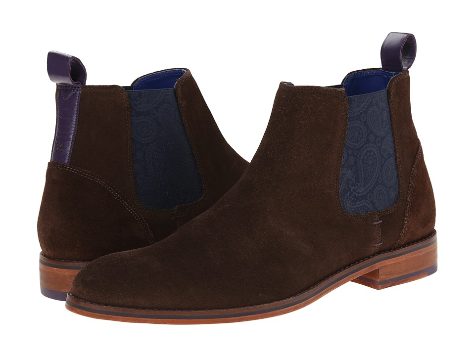 Ted Baker - Camroon 2 (Dark Brown Suede) Men's Shoes