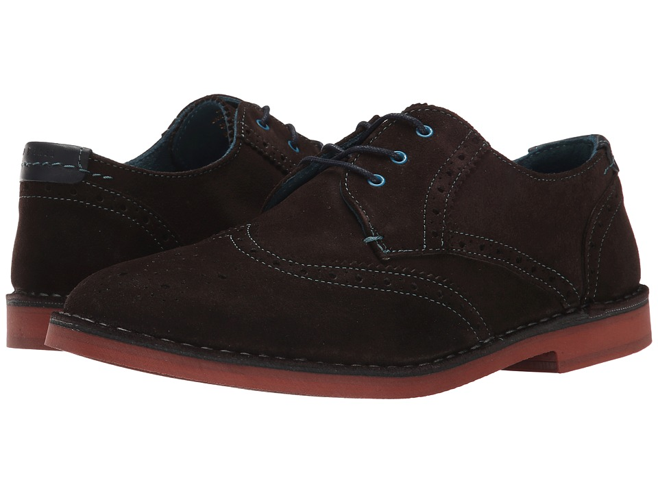 Ted Baker - Jamfro 6 (Dark Brown Suede) Men's Shoes