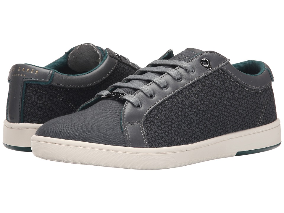 Ted Baker - Keeran 2 (Dark Grey Textile) Men's Lace up casual Shoes
