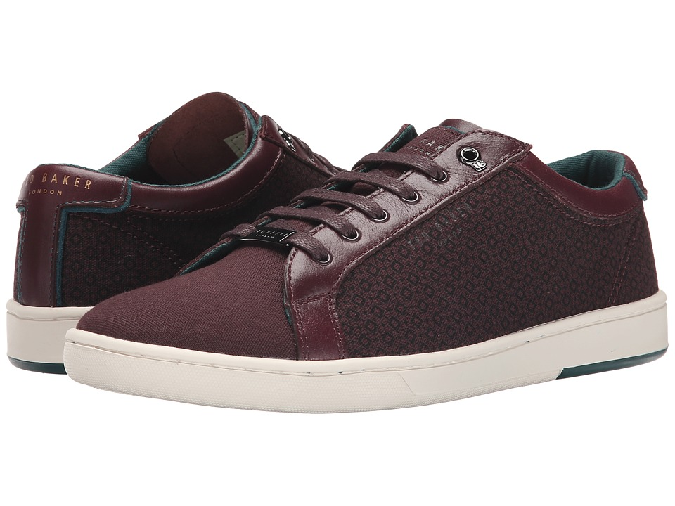 Ted Baker - Keeran 2 (Dark Red Textile) Men
