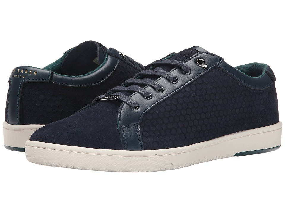 Ted Baker - Slowne (Dark Blue Suede) Men's Shoes