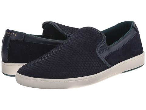 Ted Baker - Speerz (Dark Blue Suede) Men's Slip on Shoes