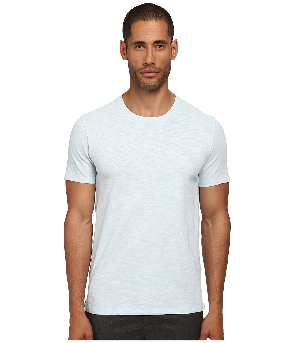 Vince - Short Sleeve Crew Neck Tee (Soft Sky) Men