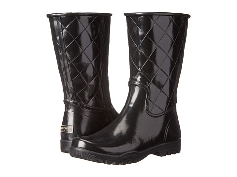 Sperry Top-Sider - Nellie (Black Quilted) Women's Rain Boots
