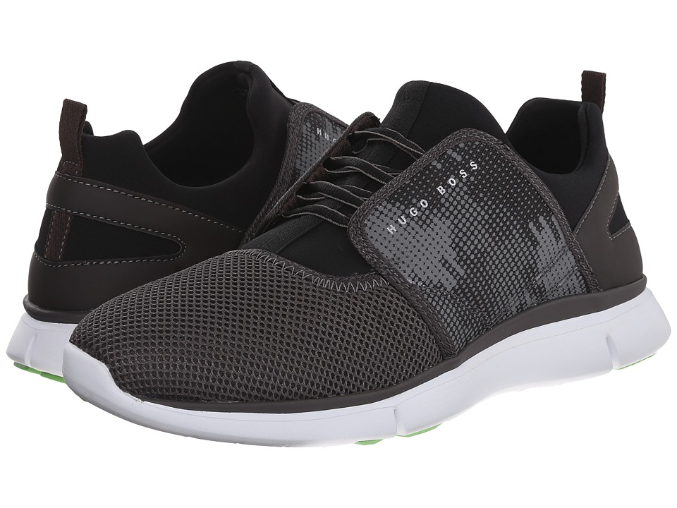 BOSS Hugo Boss - Gym Soft by BOSS Green (Dark Grey) Men's Lace up casual Shoes