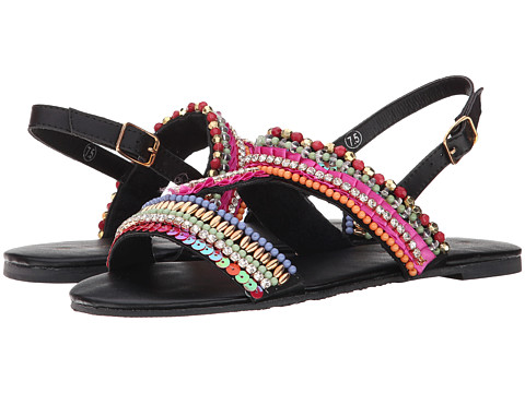 C Label - Delila-12 (Black) Women's Sandals