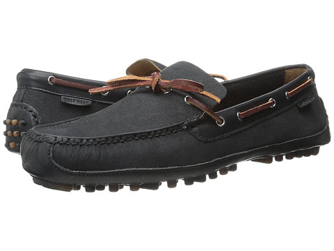 Cole Haan - Grant Canoe Camp Moc (Black 4) Men's Slip on Shoes