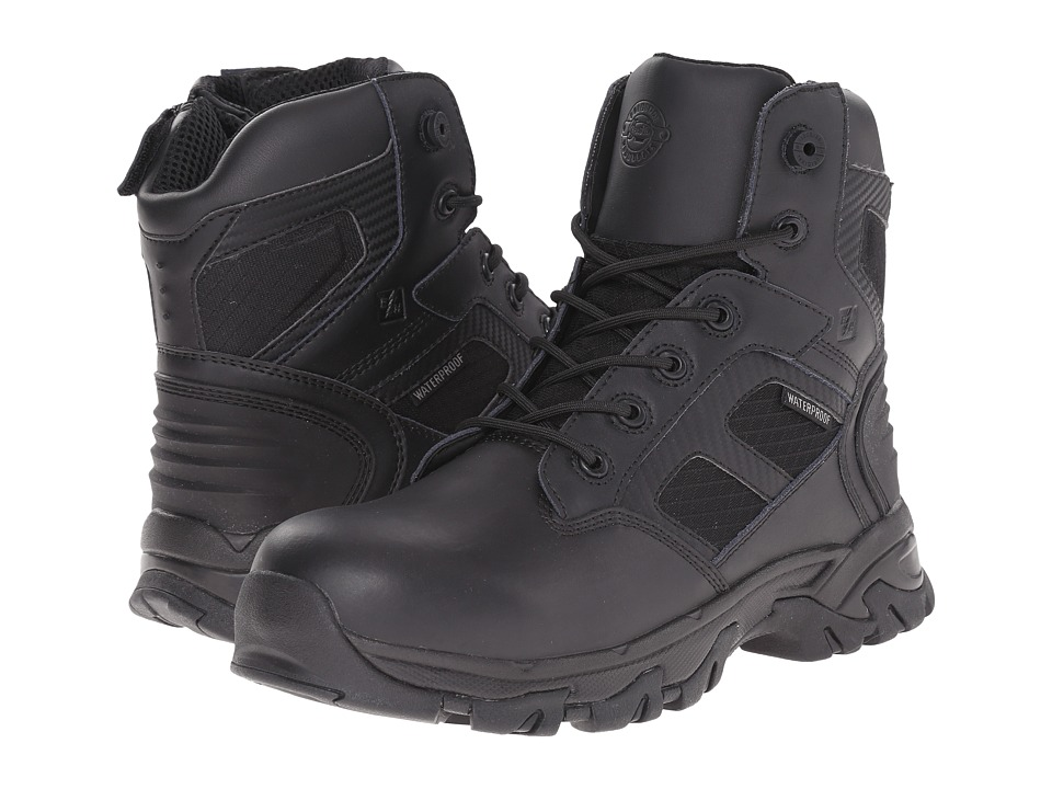 Justin - WK110 Waterproof (Black Action Leather) Cowboy Boots