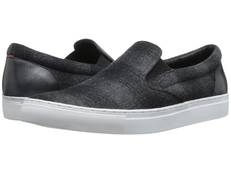 BOSS Hugo Boss - Fuslip by HUGO (Dark Grey) Men's Slip on Shoes