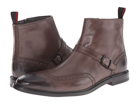 BOSS Hugo Boss - C-Cordel by HUGO (Dark Brown) Men's Dress Zip Boots