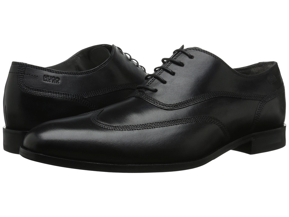 BOSS Hugo Boss - C-Modist by HUGO (Black) Men's Lace Up Wing Tip Shoes