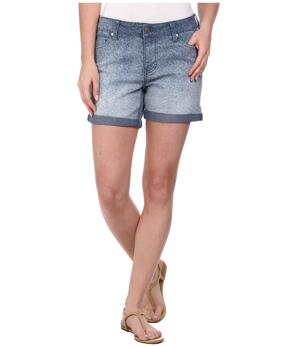 Liverpool - Printed Linda Shorts Cuffed (Ombre) Women's Shorts