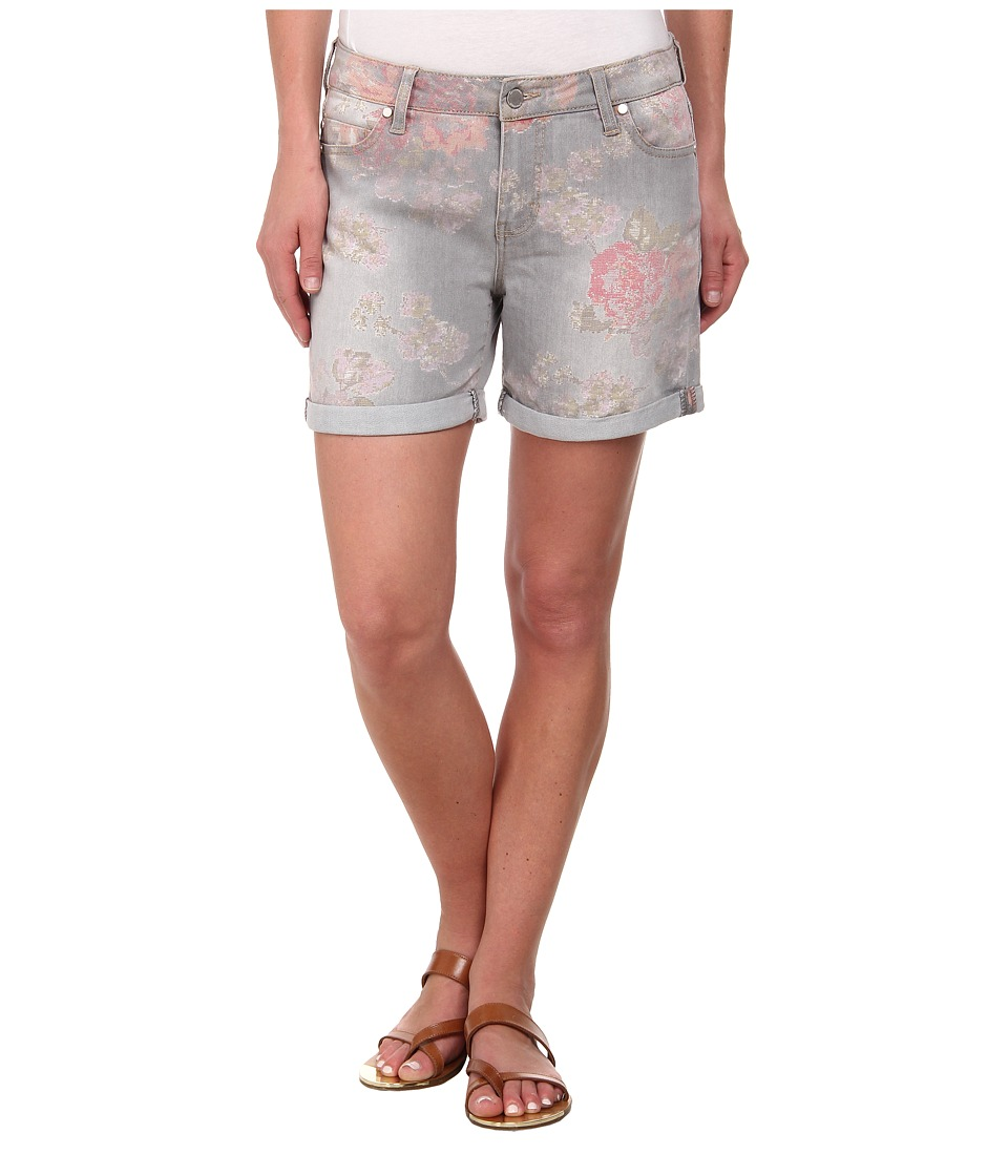 Liverpool - Printed Linda Shorts Cuffed (Grey) Women's Shorts