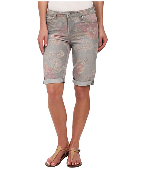 Liverpool - Printed Bae Bermuda (Gray) Women's Shorts