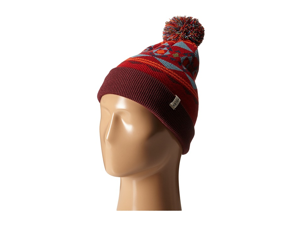 Poler - Woodsman Beanie (Dark Red) Beanies