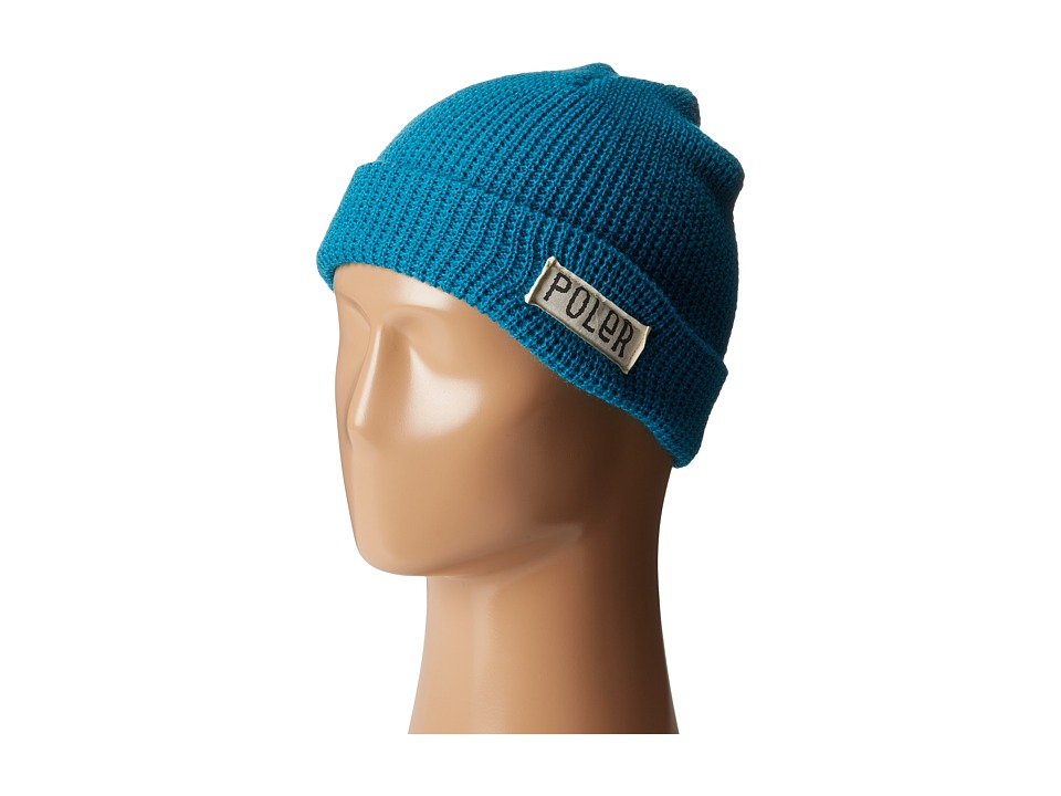 Poler - Workerman Beanie (Teal1) Beanies