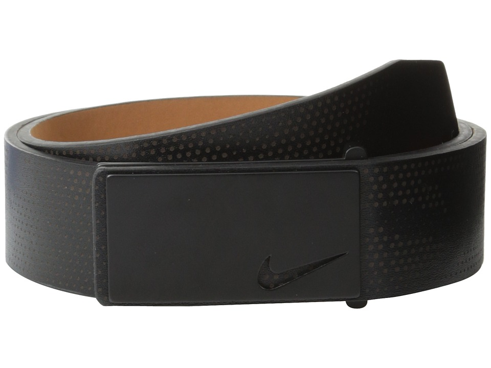 Nike - Sleek Modern Lazer (Black) Men's Belts