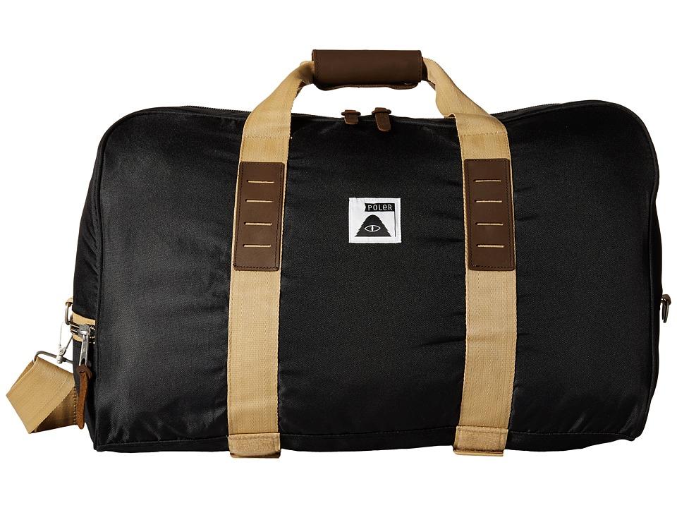 Poler - Carry On Duffel (Black) Duffel Bags