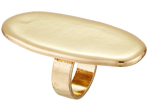 Sam Edelman - Oval Disc Ring (Gold) Ring