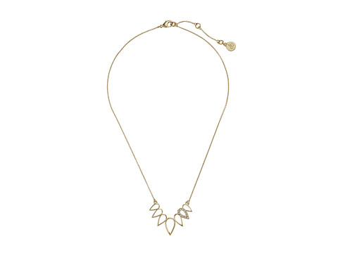 Sam Edelman - Open Tear Frontal Necklace 16 Necklace (Gold) Necklace