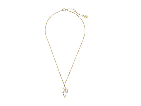 Sam Edelman - Mutli Teardrop Pendant 18 Necklace (Gold) Necklace