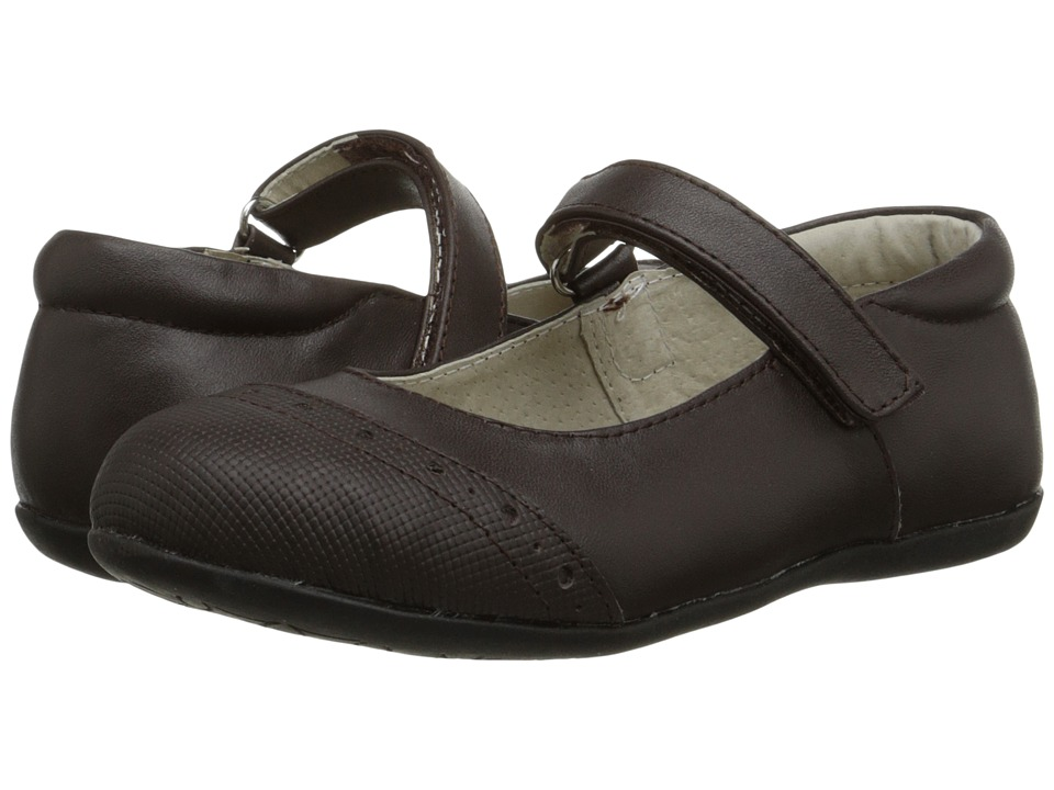 See Kai Run Kids Meredith (Toddler/Little Kid) (Brown) Girls Shoes