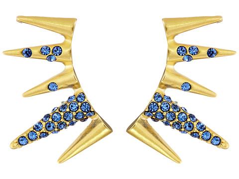 Sam Edelman - Pave Spike Ear Cuff (Sapphire/Gold) Earring