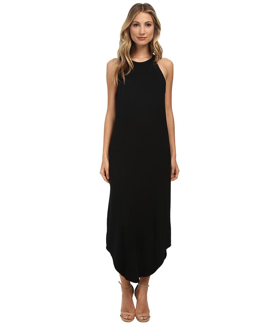 LNA - Leigh Bib Tank Dress (Black) Women's Dress