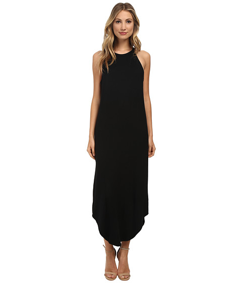 LNA - Leigh Bib Tank Dress (Black) Women