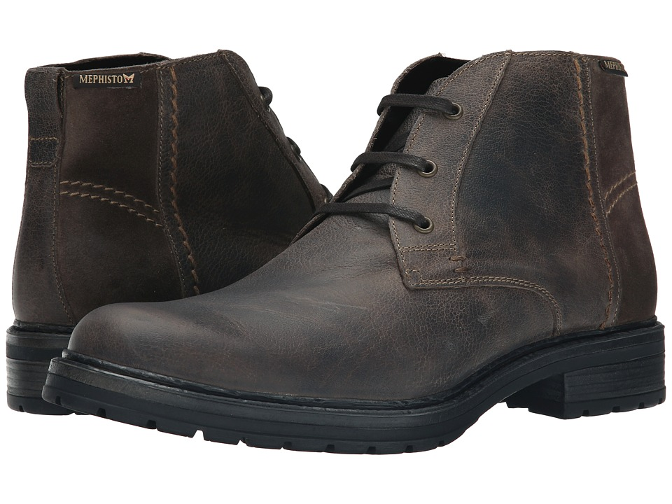 Mephisto - Lenny (Dark Taupe Brooklyn/Orsay) Men's Boots