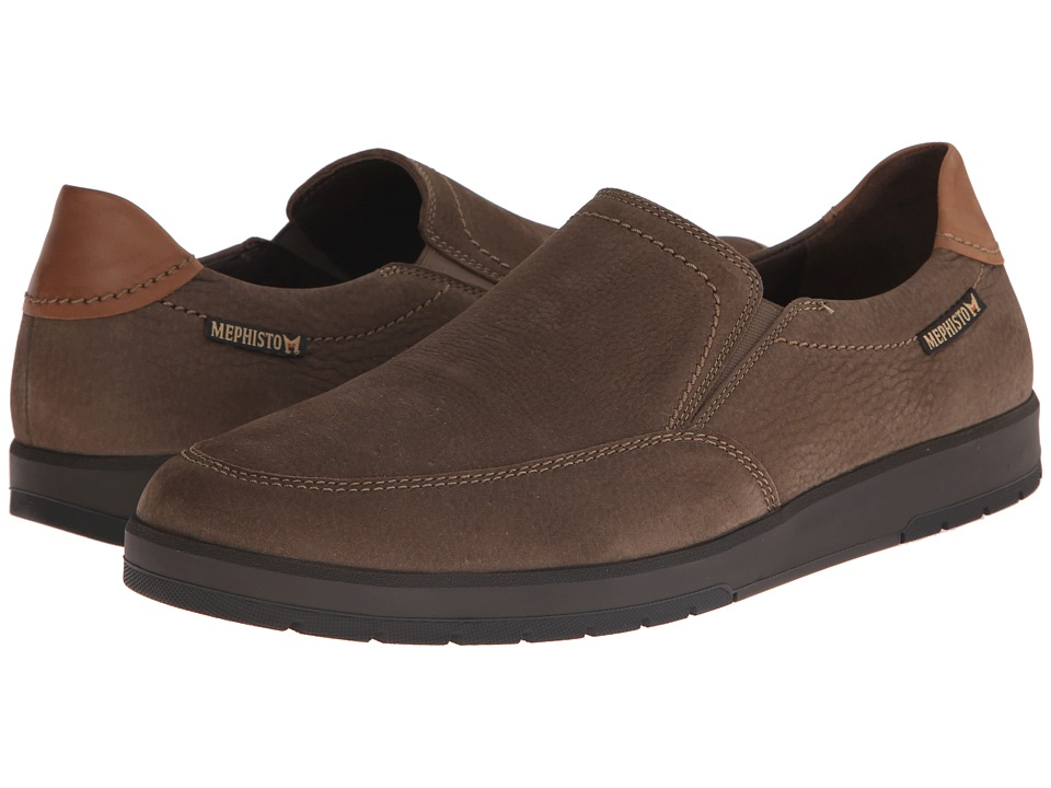Mephisto - Leo (Camel Sportbuck/Hazelnut Mano) Men's Shoes