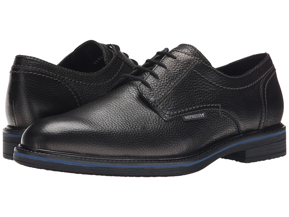 Mephisto - Waino (Black Granit) Men's Shoes