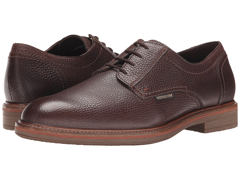 Mephisto - Waino (Dark Brown Granit) Men's Shoes