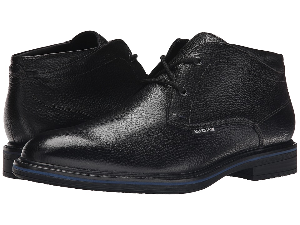 Mephisto - Walfred (Black Granit) Men's Shoes