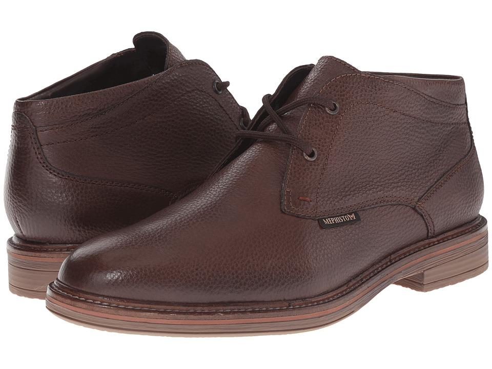 Mephisto - Walfred (Dark Brown Granit) Men's Shoes