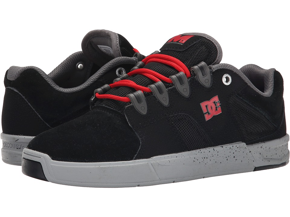 DC - Maddo SE (Black/Battleship/Athletic Red) Men's Skate Shoes