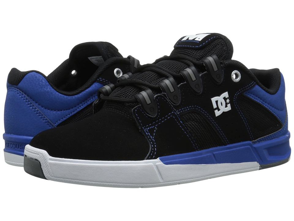 DC - Maddo (Black/Blue) Men's Skate Shoes