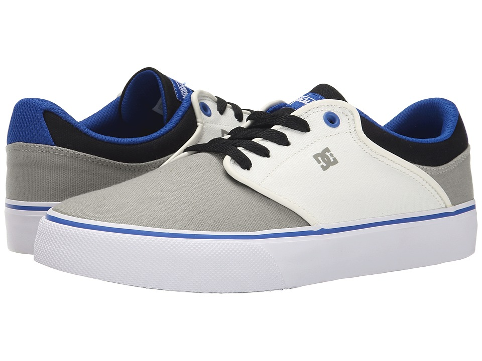 DC Mikey Taylor Vulc TX (Grey/White/Blue) Men