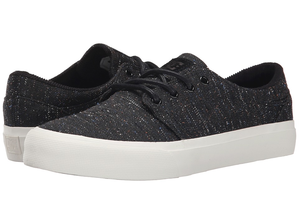DC - Trase SE (Black/Black/White) Skate Shoes