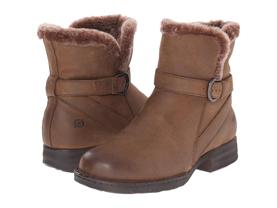 Born - Kaia (Summer Brown) Women's Zip Boots
