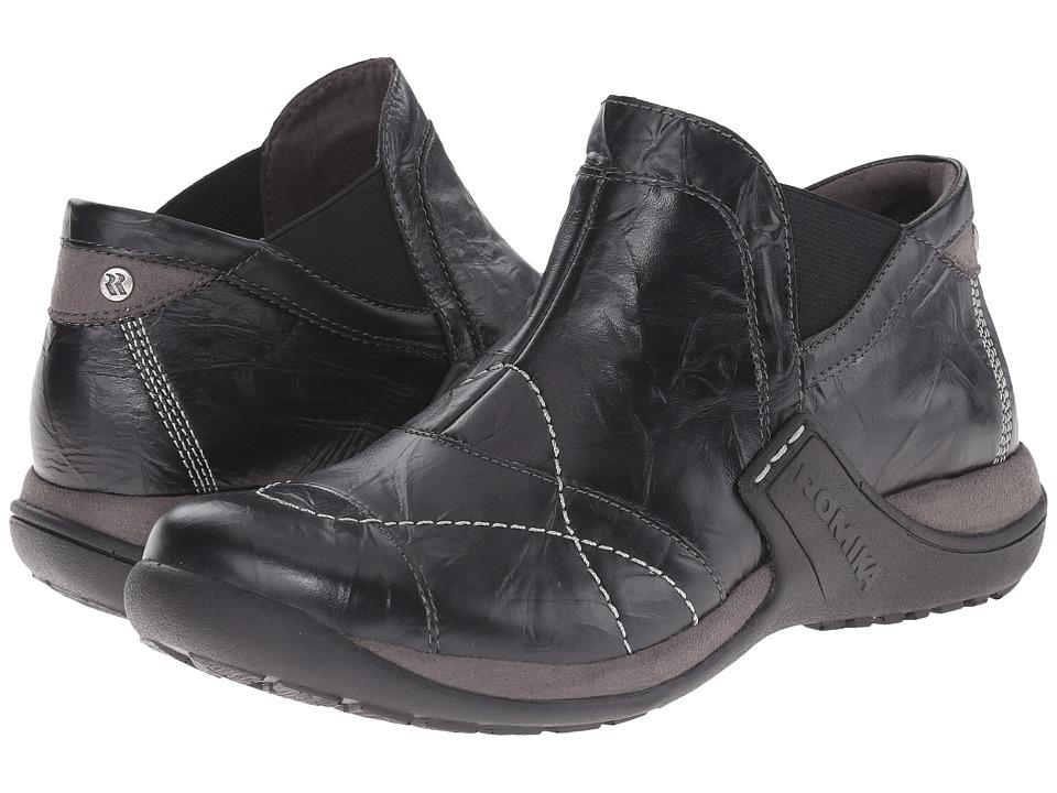 Romika - Milla 102 (Black/Grey Bozen/Microliner) Women's Shoes