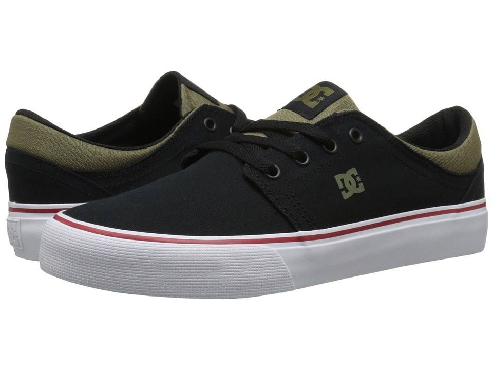 DC - Trase NM (Black/Olive) Skate Shoes